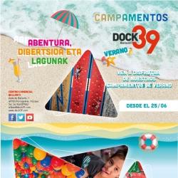 Vuelven los campamentos de Verano de Dock39