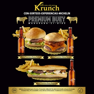 KRUNCH - Nuevos Menús Premium Buey