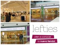 Reapertura de la tienda Lefties