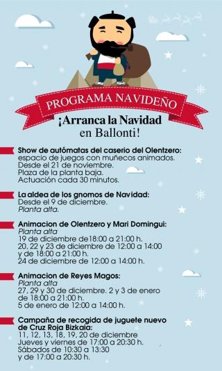 Arranca la Navidad en Ballonti ¡mira nuestro programa!