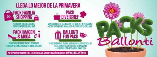 Ganadores de la promo packs de Ballonti