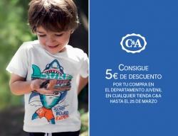 ¡C&A te regala 5€ de descuento!