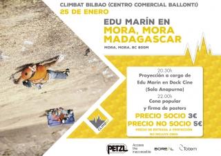 """El escalador Edu Marín estrena a nivel nacional su documental """"Mora Mora"""" en Dock Cine"""