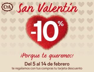¡Llega San Valentín a C&A! - Promo finalizada -