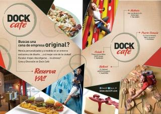 ¿Buscas una cena de empresa original? Acércate a Dock Café