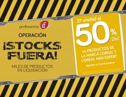OPERACIÓN STOCKS FUERA de Perfumerías if