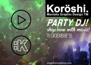 Compra a ritmo de DJ en Koröshi