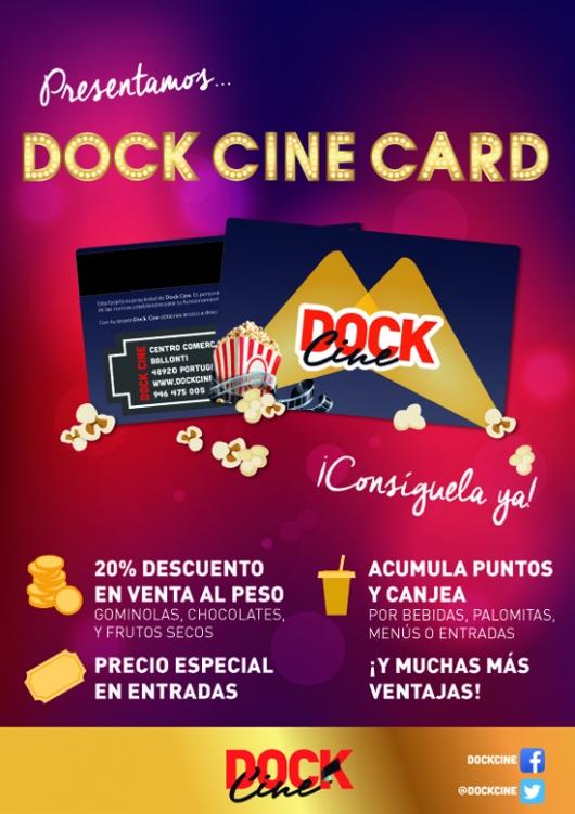 Presentamos... Dock Cine Card