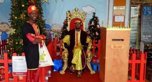 Los Reyes Magos visitan Ballonti