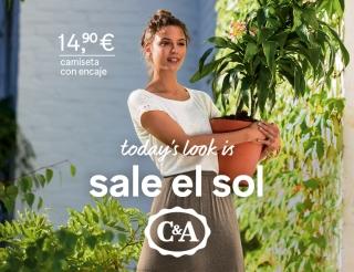 Today's look is… ¡Sale el sol en C&A!